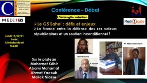 L'imbroglio du G5 Sahel : Conférence- Débat samedi
