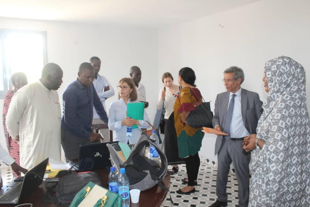 Une délégation de l'ONU au CEDPE
