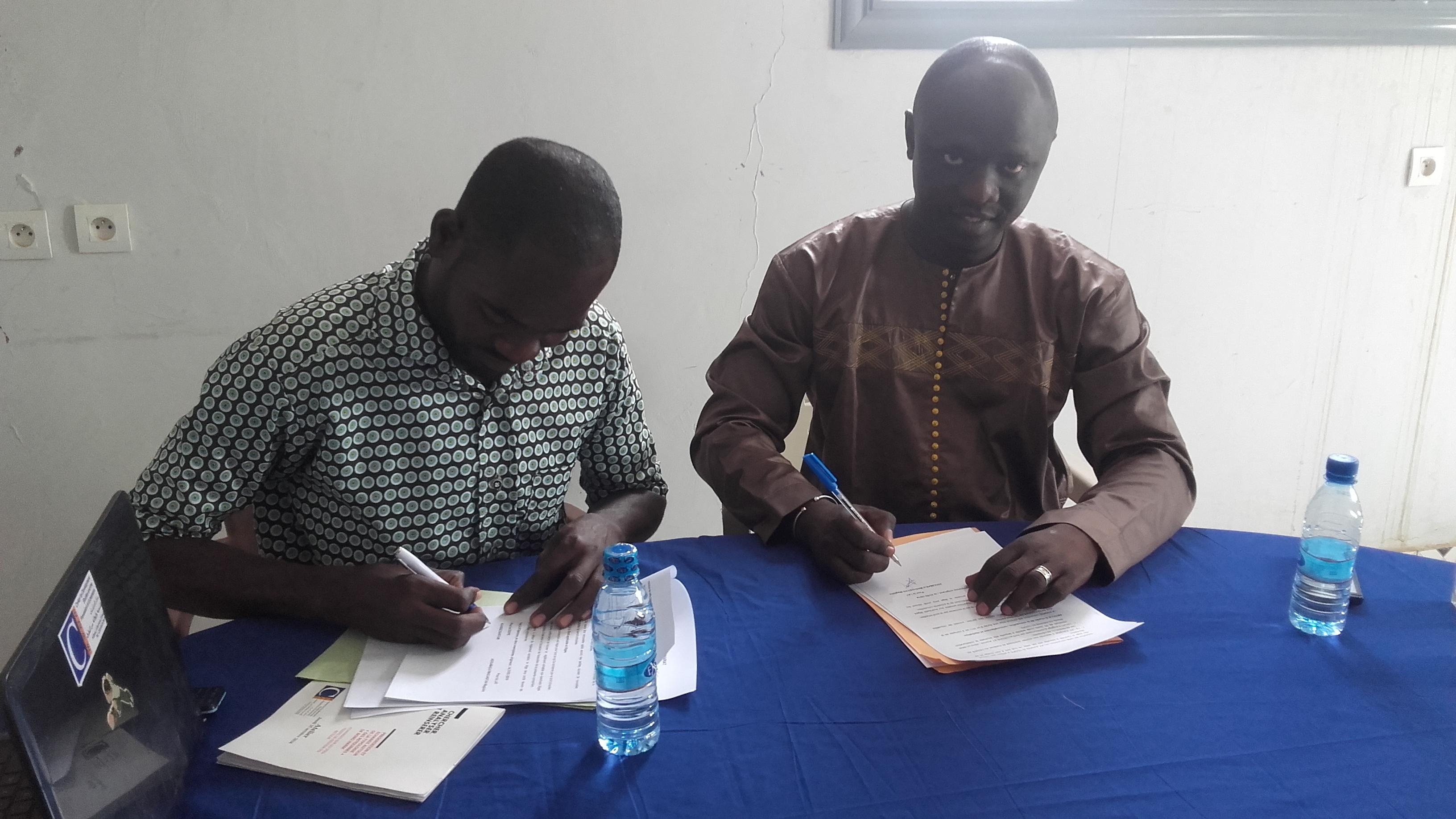 Libre Afrique Tchad et le CEDPE signent un partenariat
