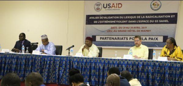 Atelier de Validation du Lexique de la Radicalisation et de l'Extrémisme Violent dans l'espace du G5 Sahel