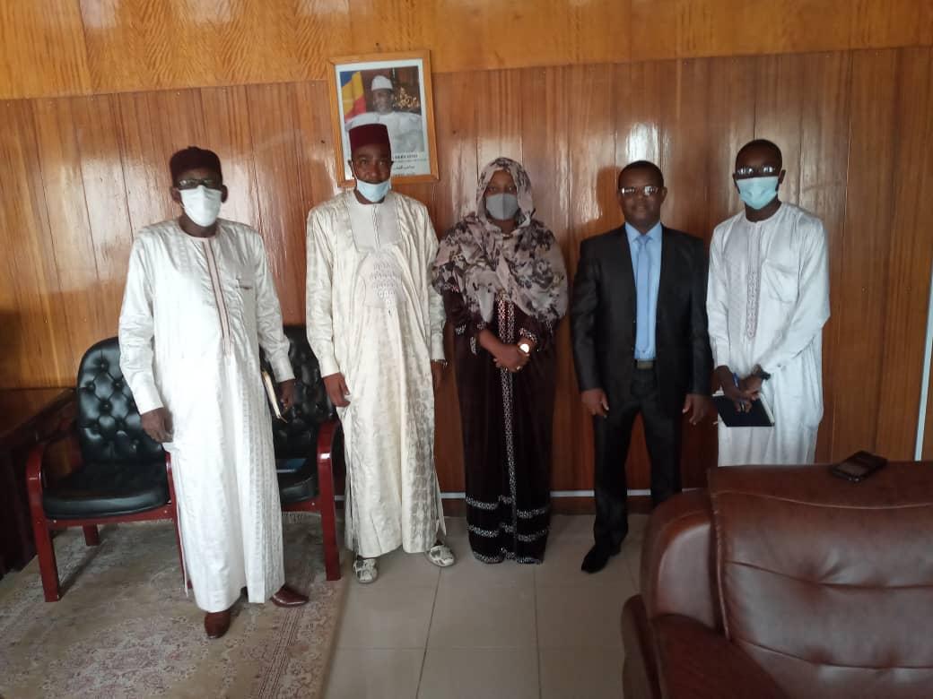 Tchad: La Secrétaire d'état aux affaires étrangères reçoit une délégation du CEDPE