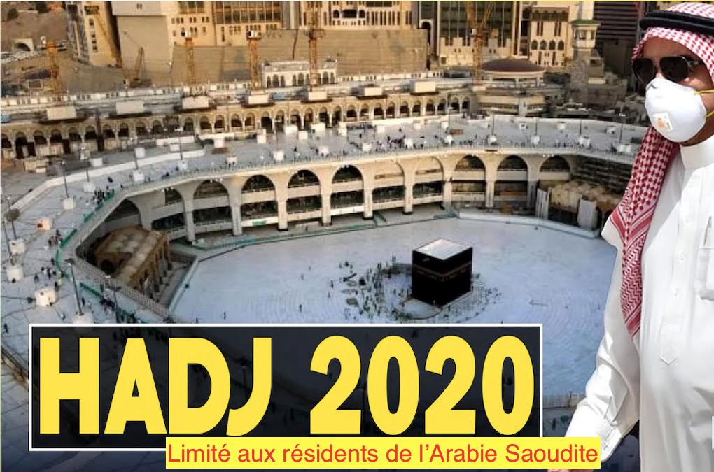 L'Arabie Saoudite annonce officiellement que le Hadj 2020 aura bien lieu