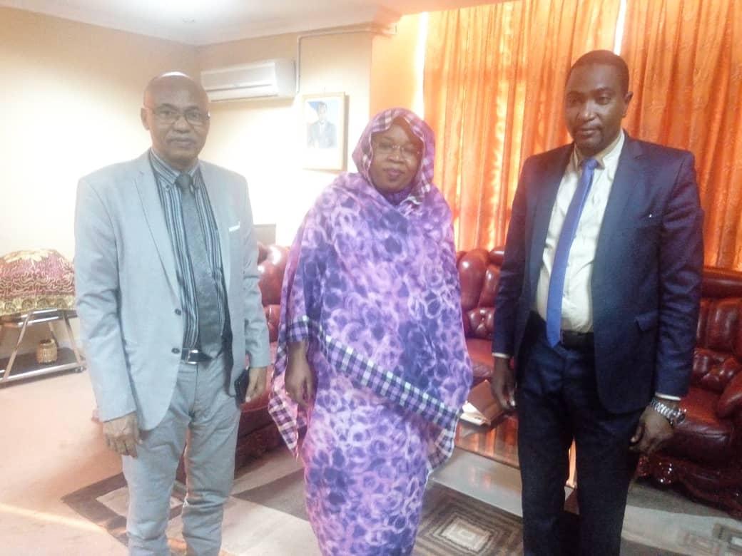 Une délégation du CEDPE reçue par la ministre de la femme