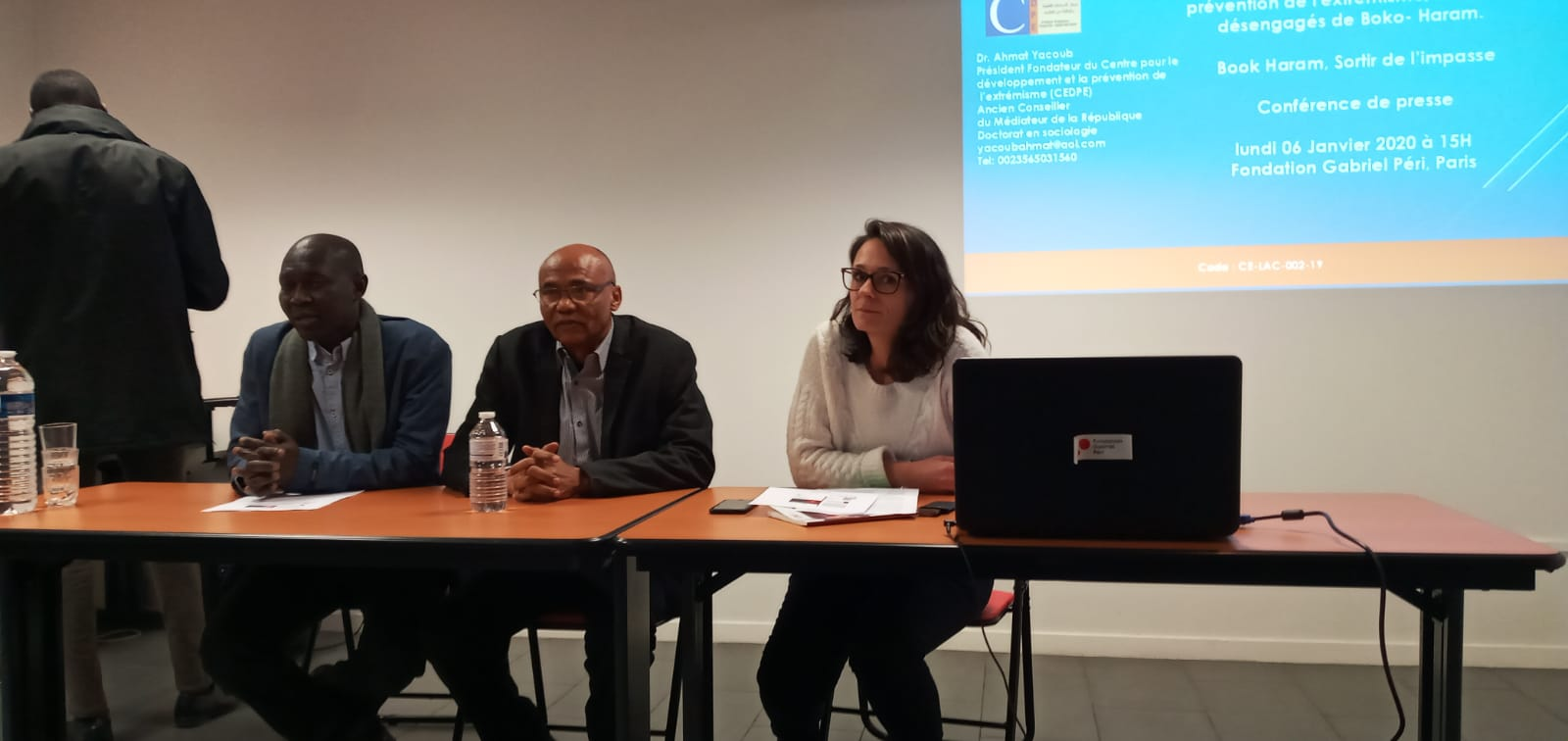 Le CEDPE a présenté son nouveau ouvrage à Paris