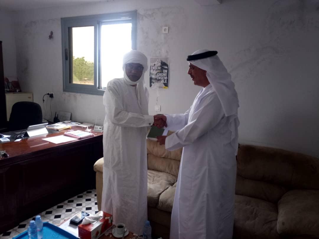 سفارة دولة الإمارات العربية المتحدة في تشاد تزور مركز دراسات الوقاية من التطرف