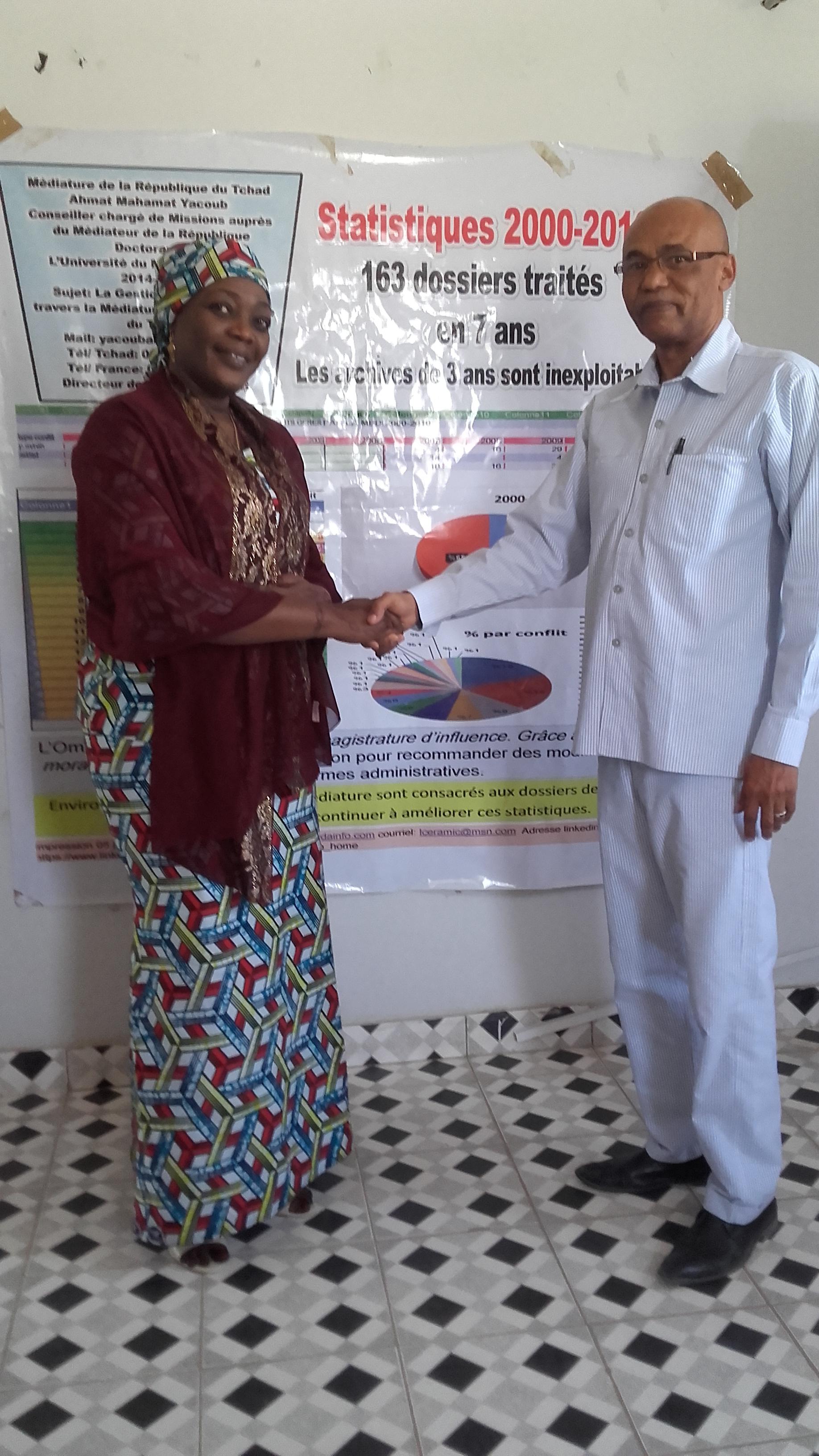 Mme la Secrétaire d'État au ministère de l'éducation rend visite au CEDPE