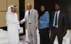 Rencontre avec l'ambassadeur des Emirats Arabes Unis au Tchad