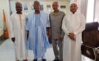 Le Secrétaire exécutif de la CBLT s'entretient avec une délégation  du CEDPE