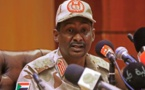 """Le Tchad s'inquiète et le général Hametti rassure: """"pas de changement"""""""