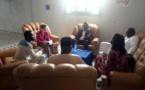 Madame Michelle NELSON chargée de programme de l'USAID-P4P en visite au CEDPE de N'djamena