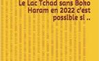 Le Lac Tchad sans Boko Haram en 2022 c'est possible si...